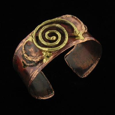 B109 Cuff-Creative Copper-Renee Taylor Gallery