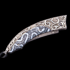Persian Curl Limited Edition Knife - B11 CURL-William Henry-Renee Taylor Gallery