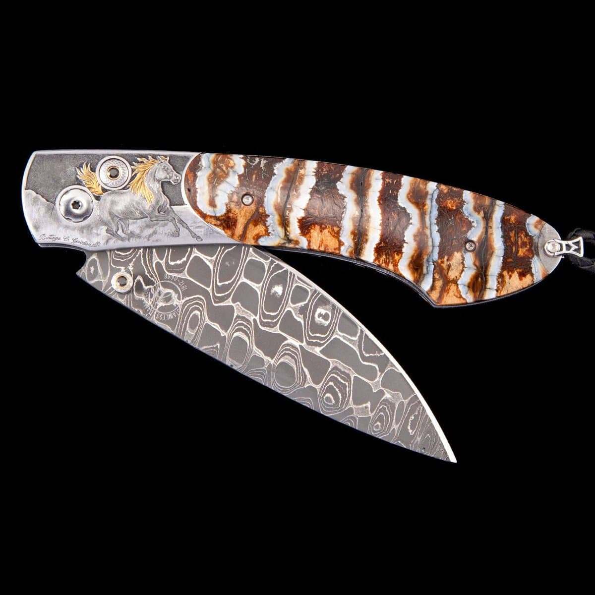 Spearpoint Arabian II Limited Edition Knife - B12 ARABIAN II-William Henry-Renee Taylor Gallery