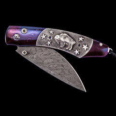 Spearpoint Buffalo Nickel III Limited Edition Knife - B12 BUFFALO NICKEL III-William Henry-Renee Taylor Gallery