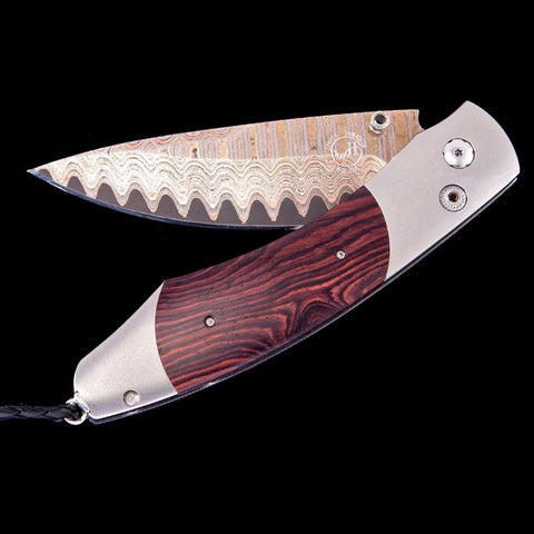 Spearpoint Kingwood Limited Edition Knife - B12 KINGWOOD-William Henry-Renee Taylor Gallery