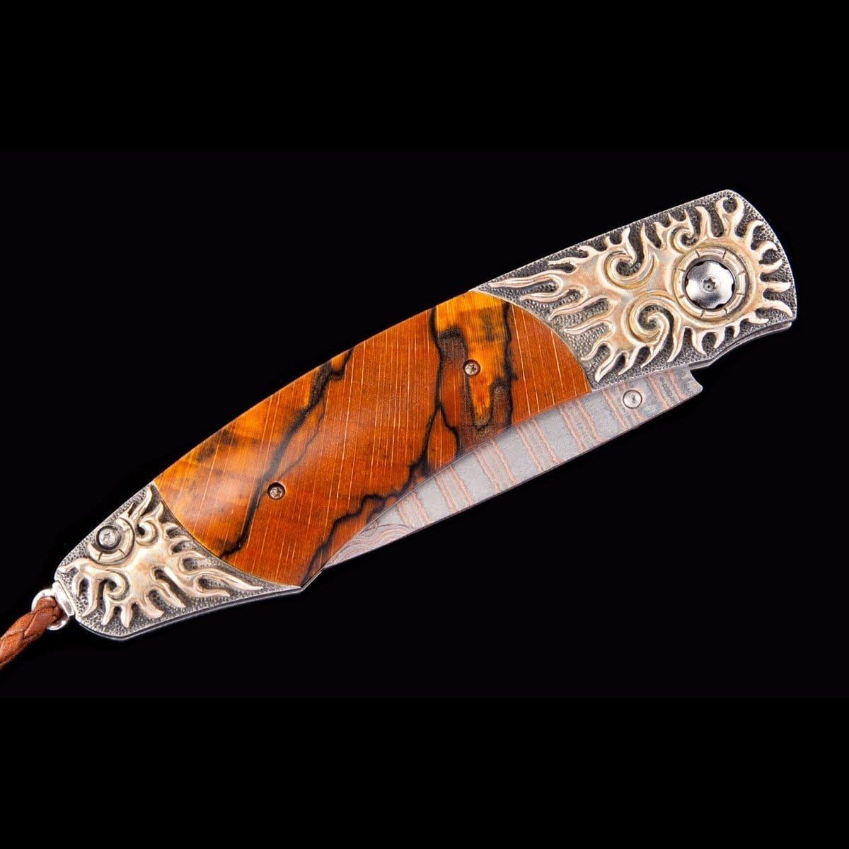 Spearpoint Mayan Flame Limited Edition Knife - B12 MAYAN FLAME-William Henry-Renee Taylor Gallery