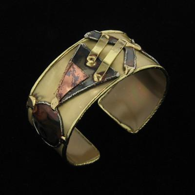 B215 Cuff-Creative Copper-Renee Taylor Gallery
