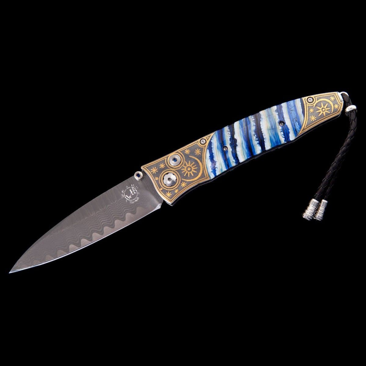 Gentac Blue Moon Limited Edition Knife - B30 BLUE MOON-William Henry-Renee Taylor Gallery