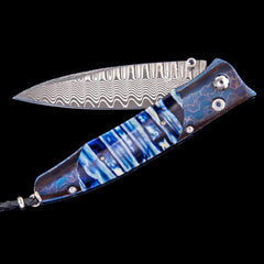 Gentac Blue Night Limited Edition Knife - B30 BLUE NIGHT-William Henry-Renee Taylor Gallery