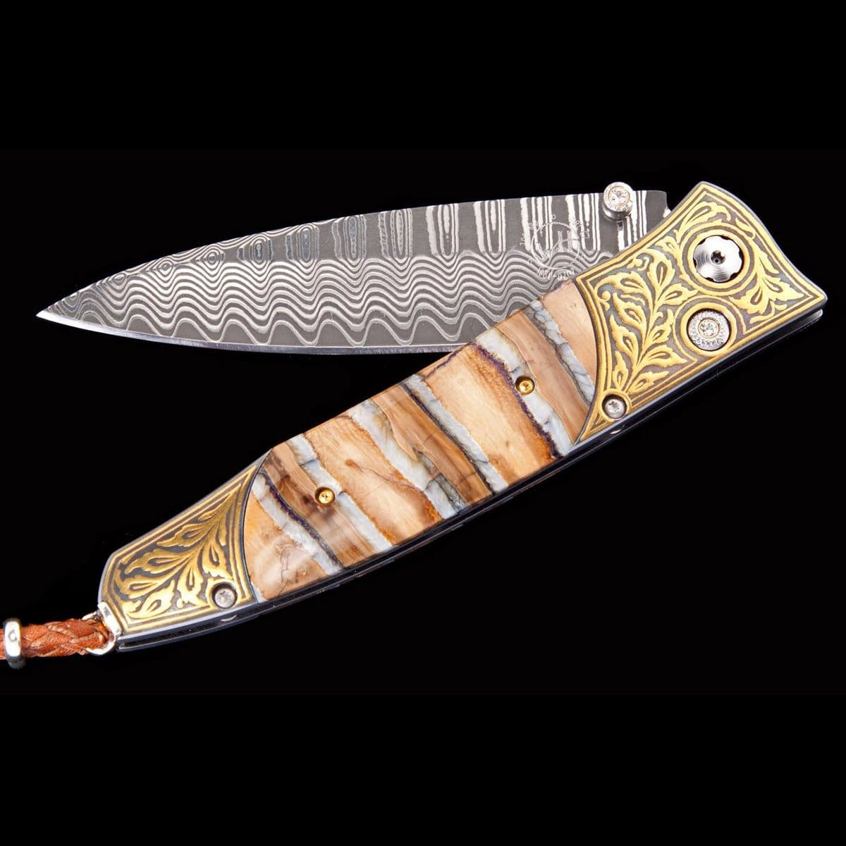 Gentac Golden Age Limited Edition Knife - B30 GOLDEN AGE-William Henry-Renee Taylor Gallery