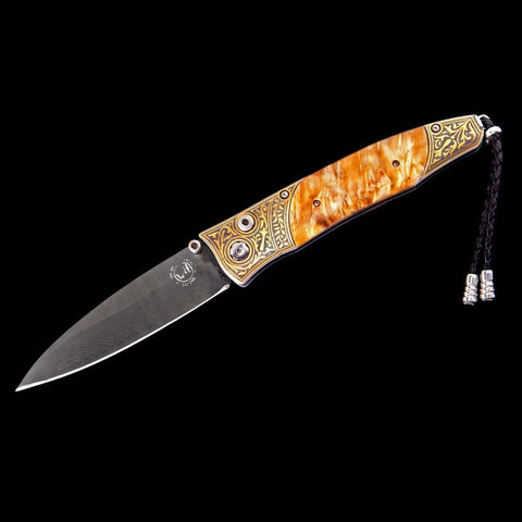 Gentac Golden Dream Limited Edition Knife - B30 GOLDEN DREAM-William Henry-Renee Taylor Gallery