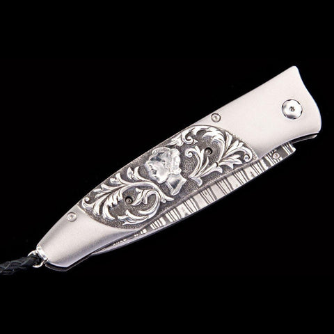 Gentac Quicksilver Limited Edition Knife - B30 QUICKSILVER-William Henry-Renee Taylor Gallery