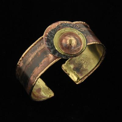B536 Cuff-Creative Copper-Renee Taylor Gallery