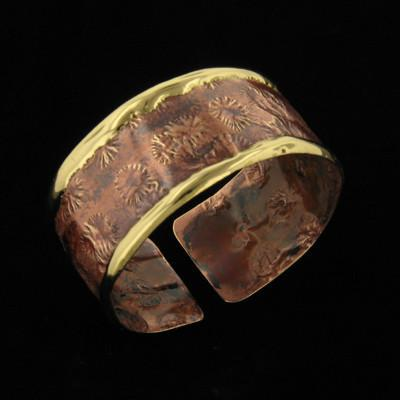 B829 Cuff-Creative Copper-Renee Taylor Gallery