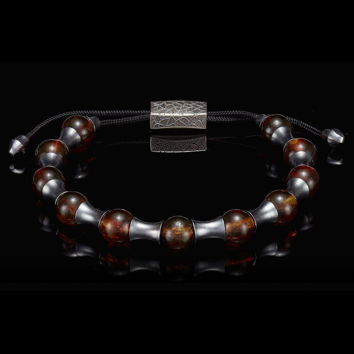 Men's Amber Zenith Bracelet - BB19 AMB-William Henry-Renee Taylor Gallery