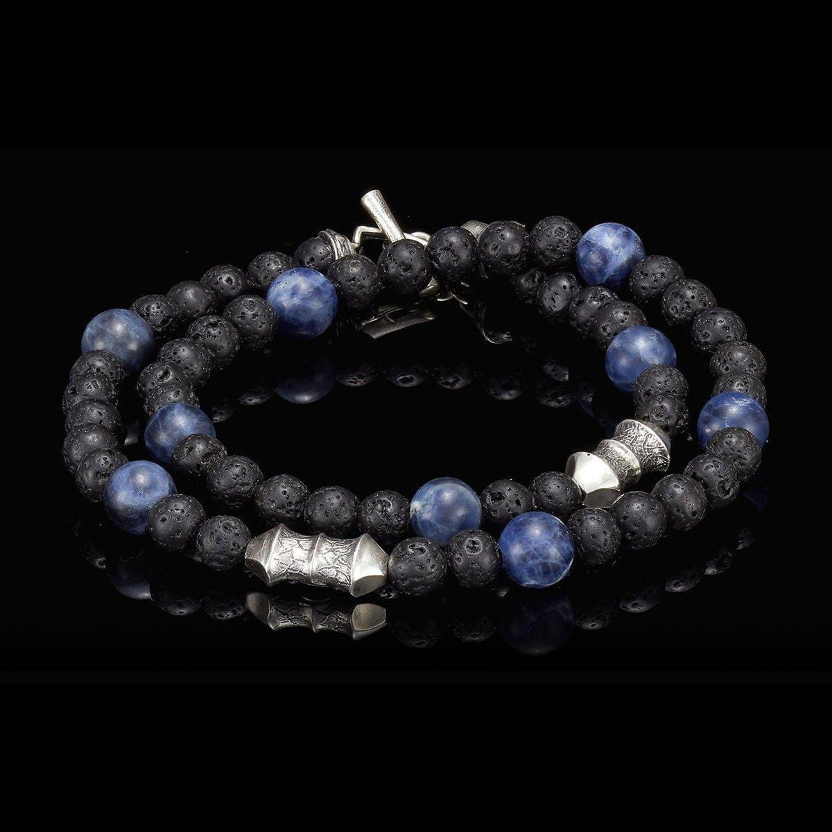 Men's Sodalite Tether Bracelet - BB20 SOD-William Henry-Renee Taylor Gallery