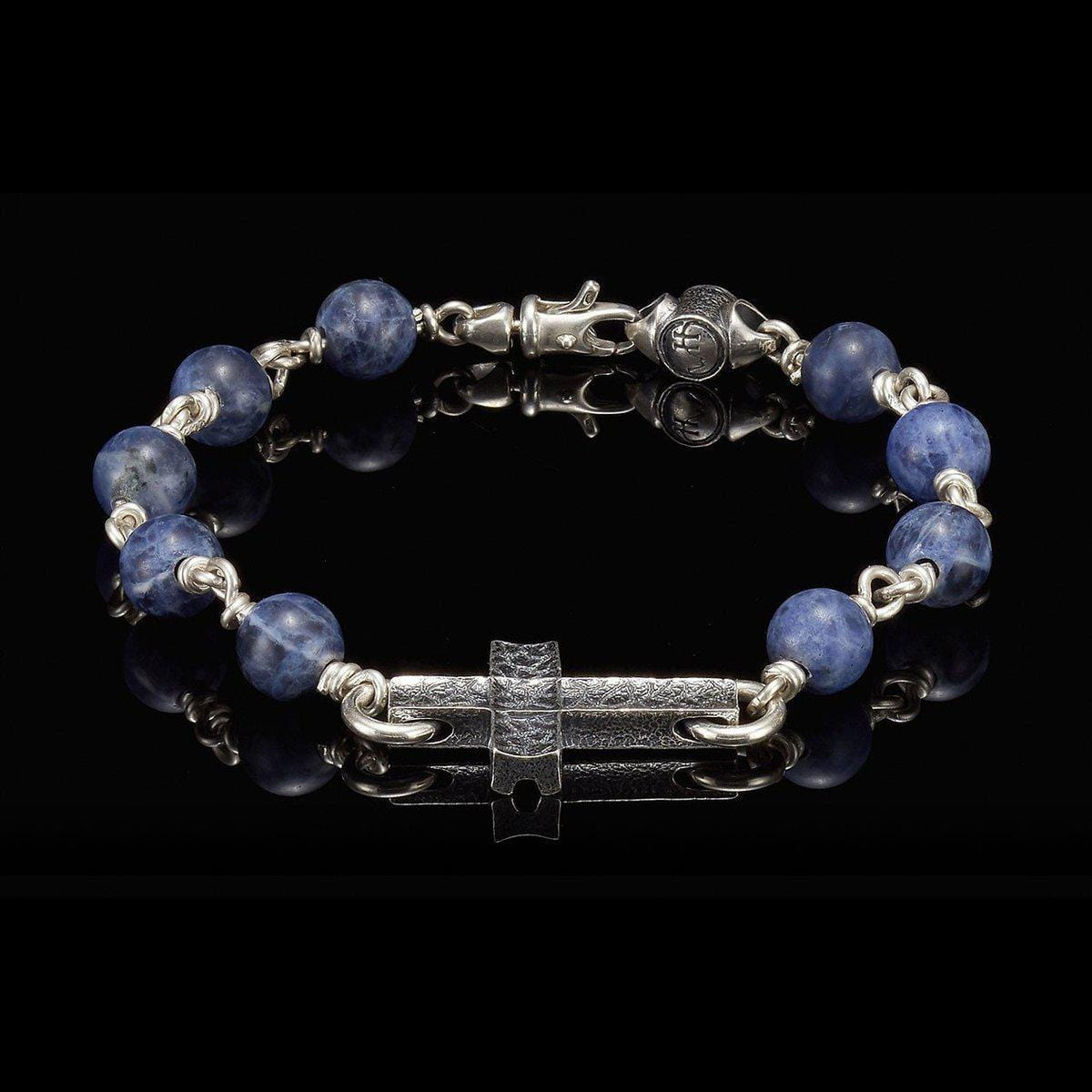 Men's Sodalite Sanctum Bracelet - BB21 SOD-William Henry-Renee Taylor Gallery