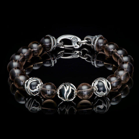 Men's Smoky Bracelet - BB32 SQ-William Henry-Renee Taylor Gallery