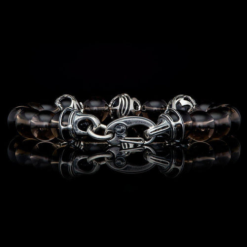 Men's Embrace Smoky Bracelet - BB32 SQ-William Henry-Renee Taylor Gallery