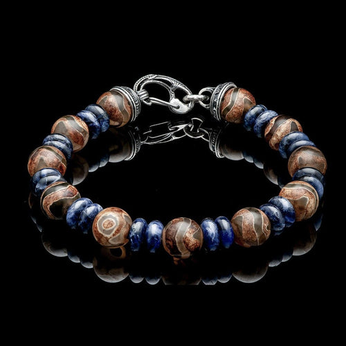 Men's Enlightenment Bracelet - BB38 TAB-William Henry-Renee Taylor Gallery
