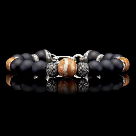 Men's Ice Age Bracelet - BB7 MT BR - William Henry