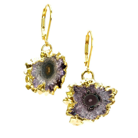 Bella 22k Gold Plated with Stalactite Earrings - G2002E - Nina Nguyen