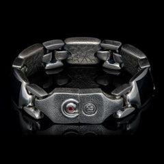 Men's Black Jade Retro Bracelet - BR13 BLK J-William Henry-Renee Taylor Gallery