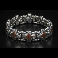 Men's Bishop Bracelet - BR1L DB RB-William Henry-Renee Taylor Gallery