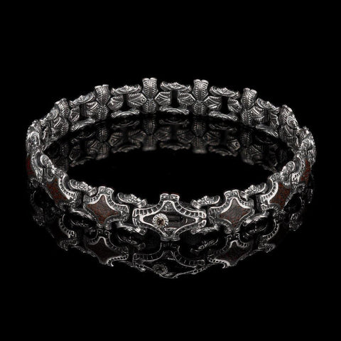 Men's Aramis Bracelet - BR1S DB RB-William Henry-Renee Taylor Gallery
