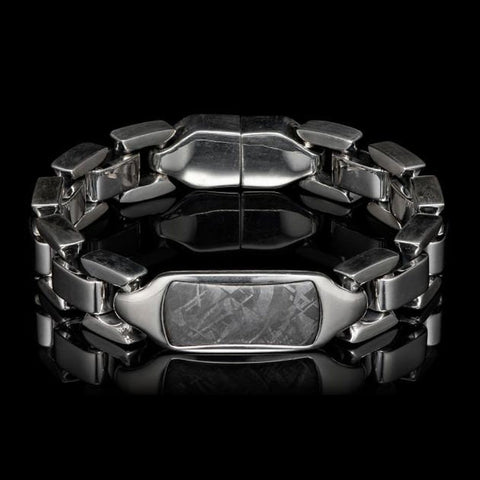 Men's Meteorite Identity Bracelet - BR24 MET - William Henry
