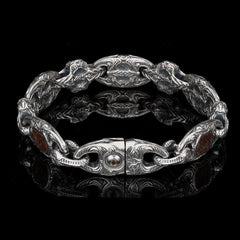 Men's Intrepid Bracelet - BR3 DB RB-William Henry-Renee Taylor Gallery