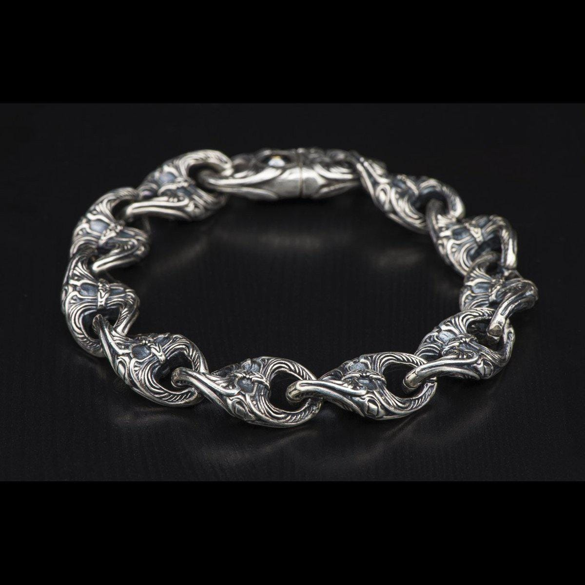 Men's Escher Bracelet - BR4-William Henry-Renee Taylor Gallery