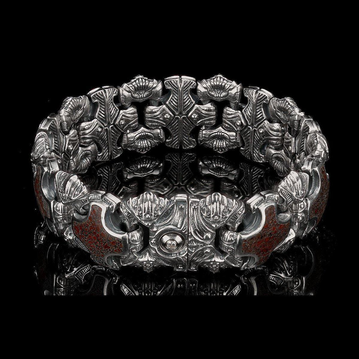 Men's Grandis Bracelet - BR5S DB RB-William Henry-Renee Taylor Gallery