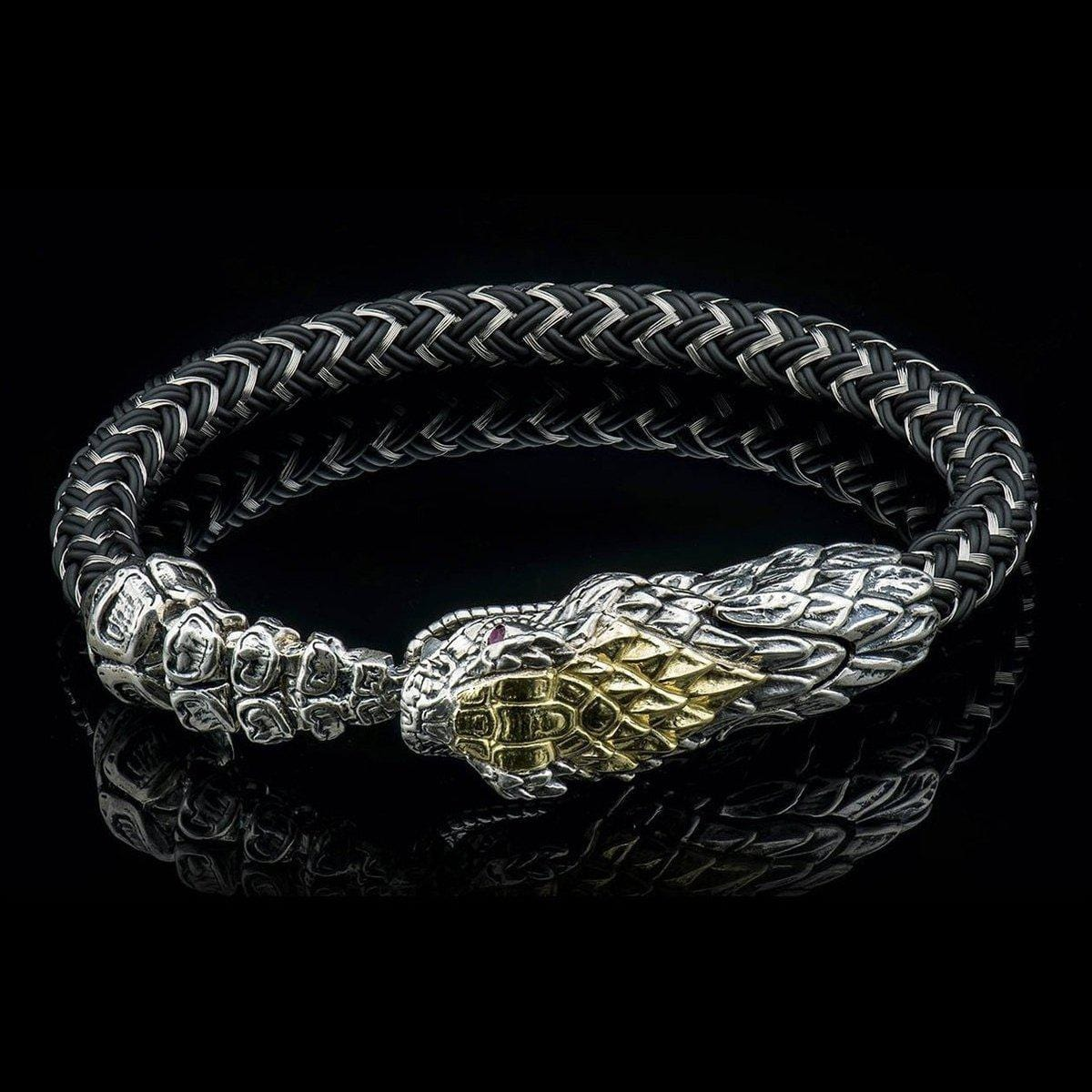 Men's Lancehead Bracelet - FL BR7 YG-William Henry-Renee Taylor Gallery
