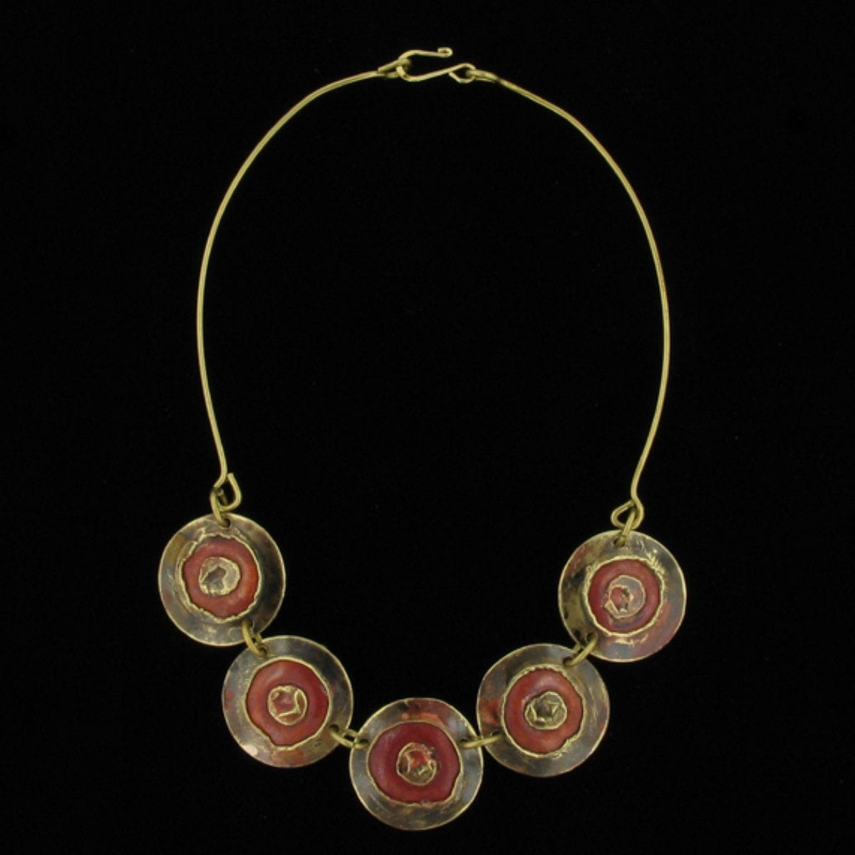 C017 Necklace-Creative Copper-Renee Taylor Gallery