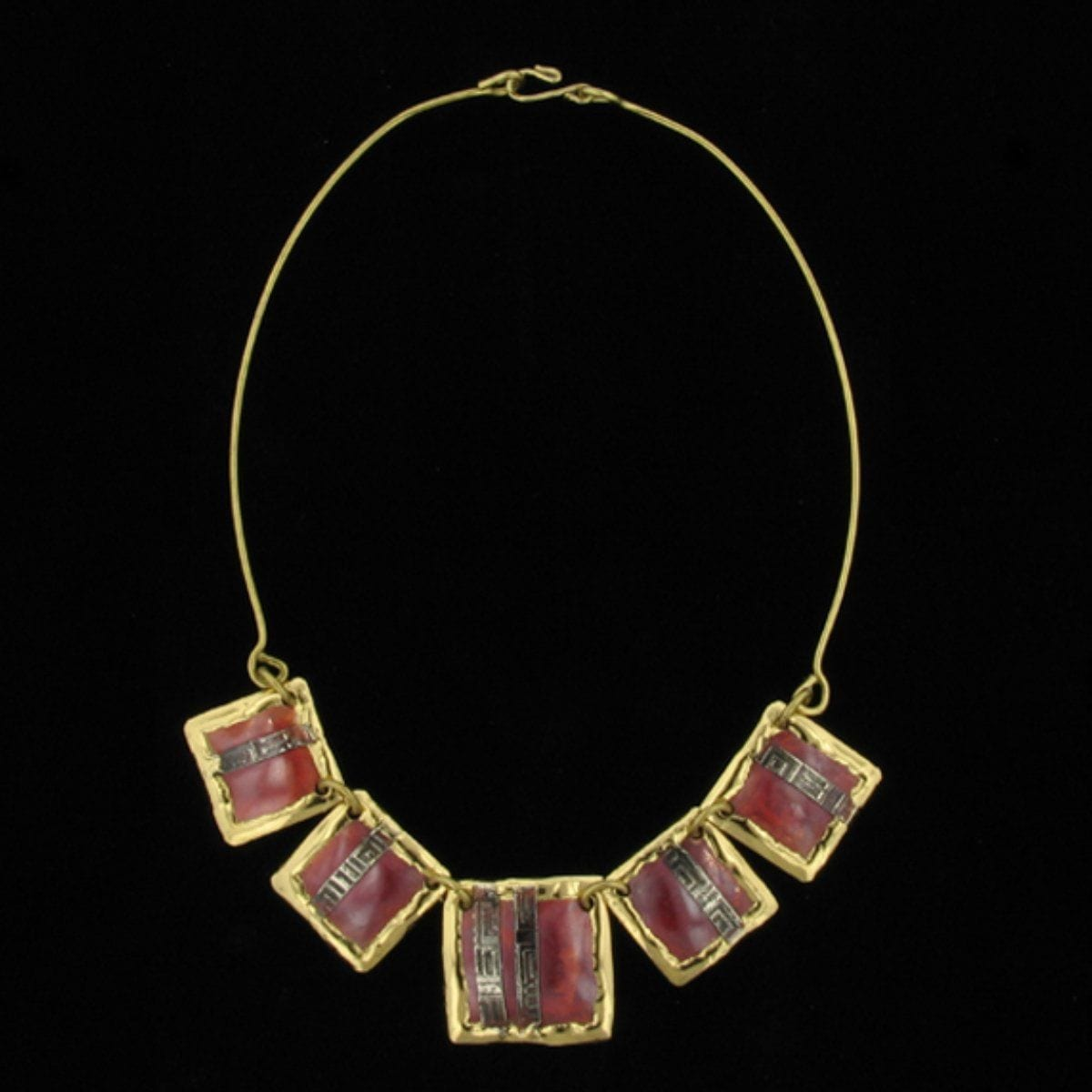 C164 Necklace-Creative Copper-Renee Taylor Gallery