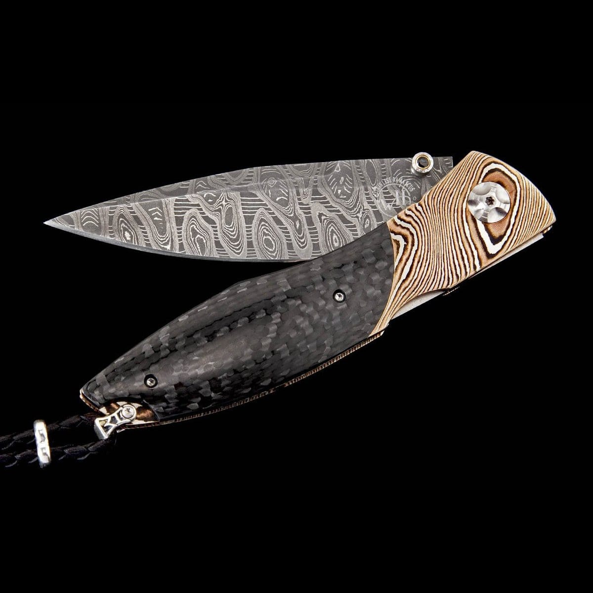 Omni Black & Gold Limited Edition Knife - C19 BLACK AND GOLD-William Henry-Renee Taylor Gallery