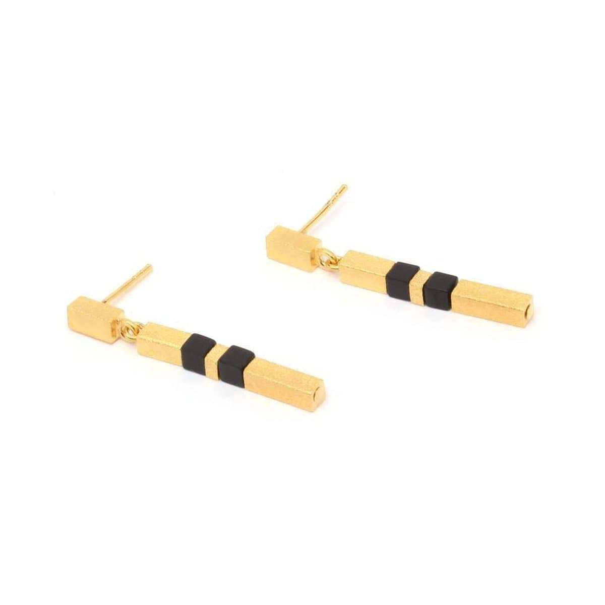 Cabisa Onyx Earrings - 15940896-Bernd Wolf-Renee Taylor Gallery