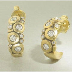 18K Candy Diamond Earrings - E-122D-Alex Sepkus-Renee Taylor Gallery