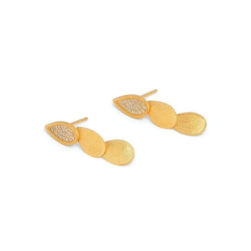 Casca Zirconia Drop Earrings - 15553156-Bernd Wolf-Renee Taylor Gallery
