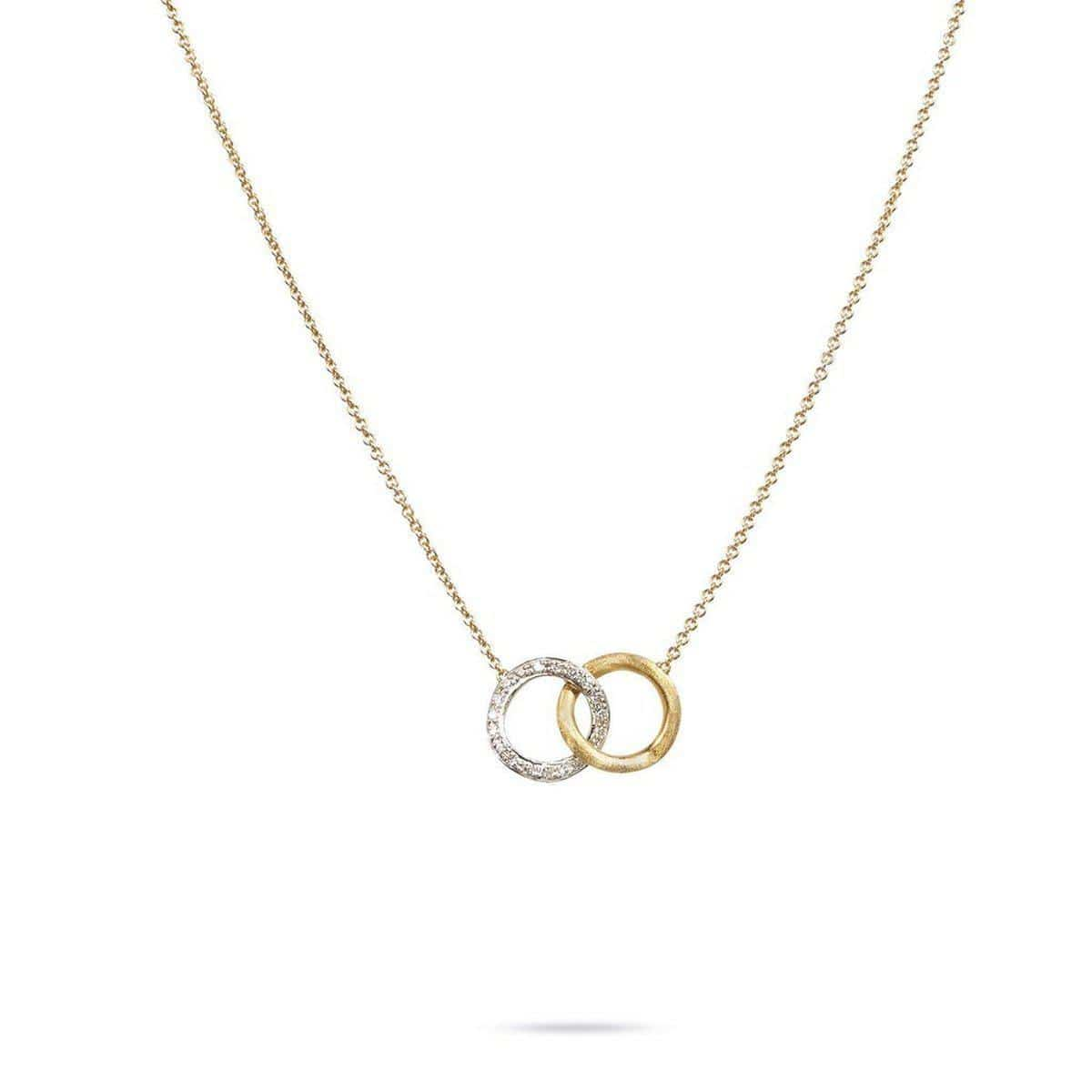 18K Delicati Necklace - CB1803 B YW 16.5""