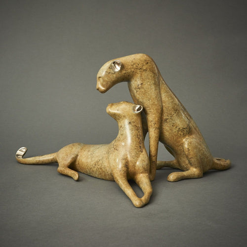 """Cheetah Couple""-Loet Vanderveen-Renee Taylor Gallery"