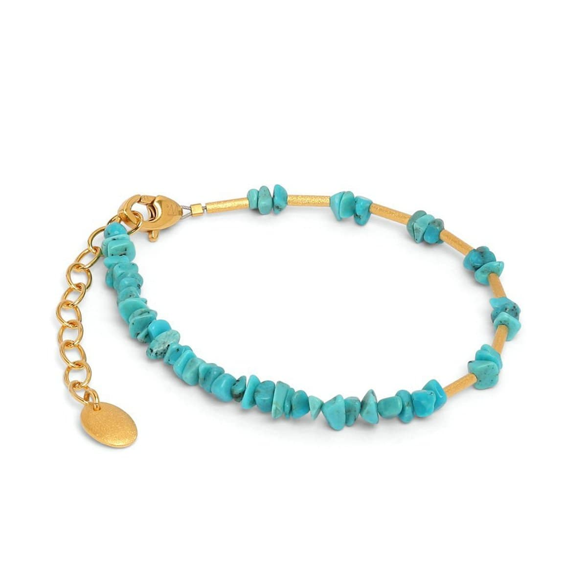 Chipas Turquoise Bracelet - 82274256-Bernd Wolf-Renee Taylor Gallery