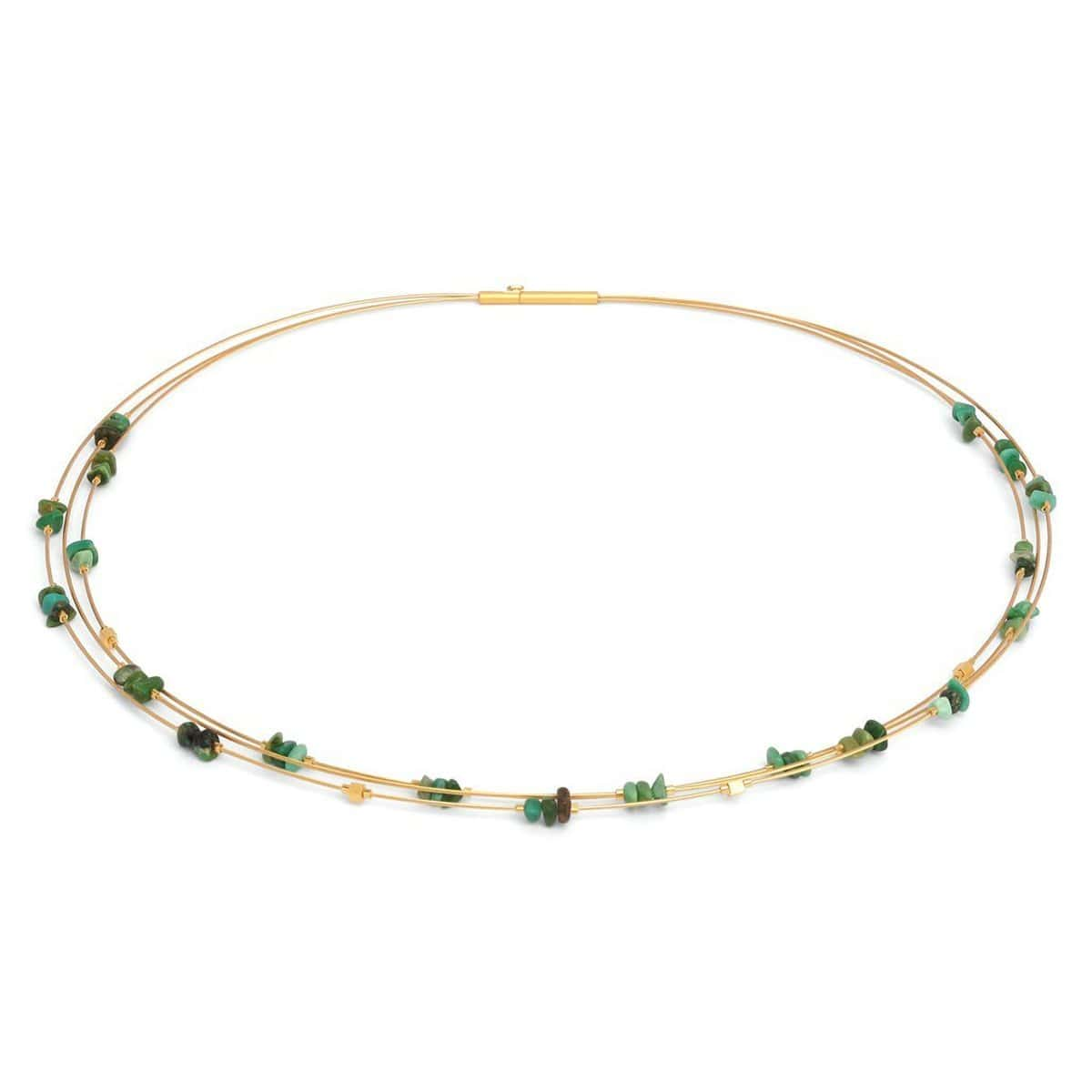 Chipo Green Turquoise Necklace - 85399356-Bernd Wolf-Renee Taylor Gallery