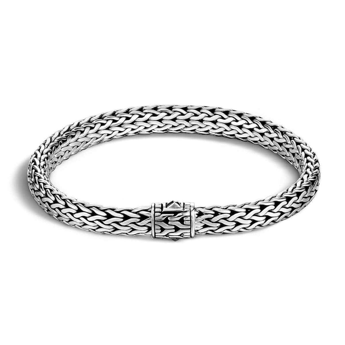 Classic Chain Silver Medium Bracelet - BB90400C
