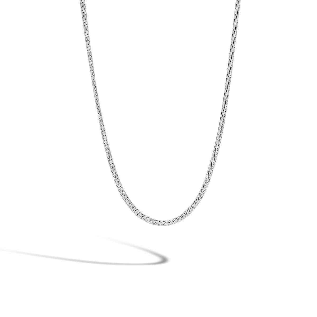 Classic Chain Silver Mini Necklace - NB92C-John Hardy-Renee Taylor Gallery