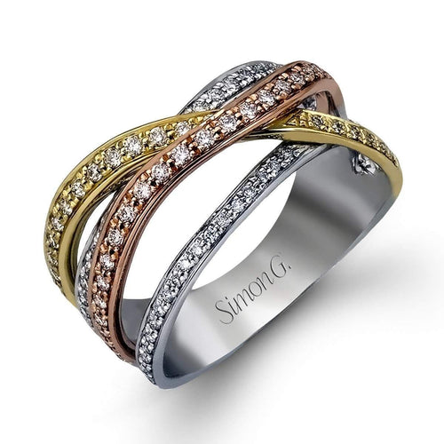 Classic Romance 3-Tone Diamond Ring - MR1662-YWR-Simon G.-Renee Taylor Gallery