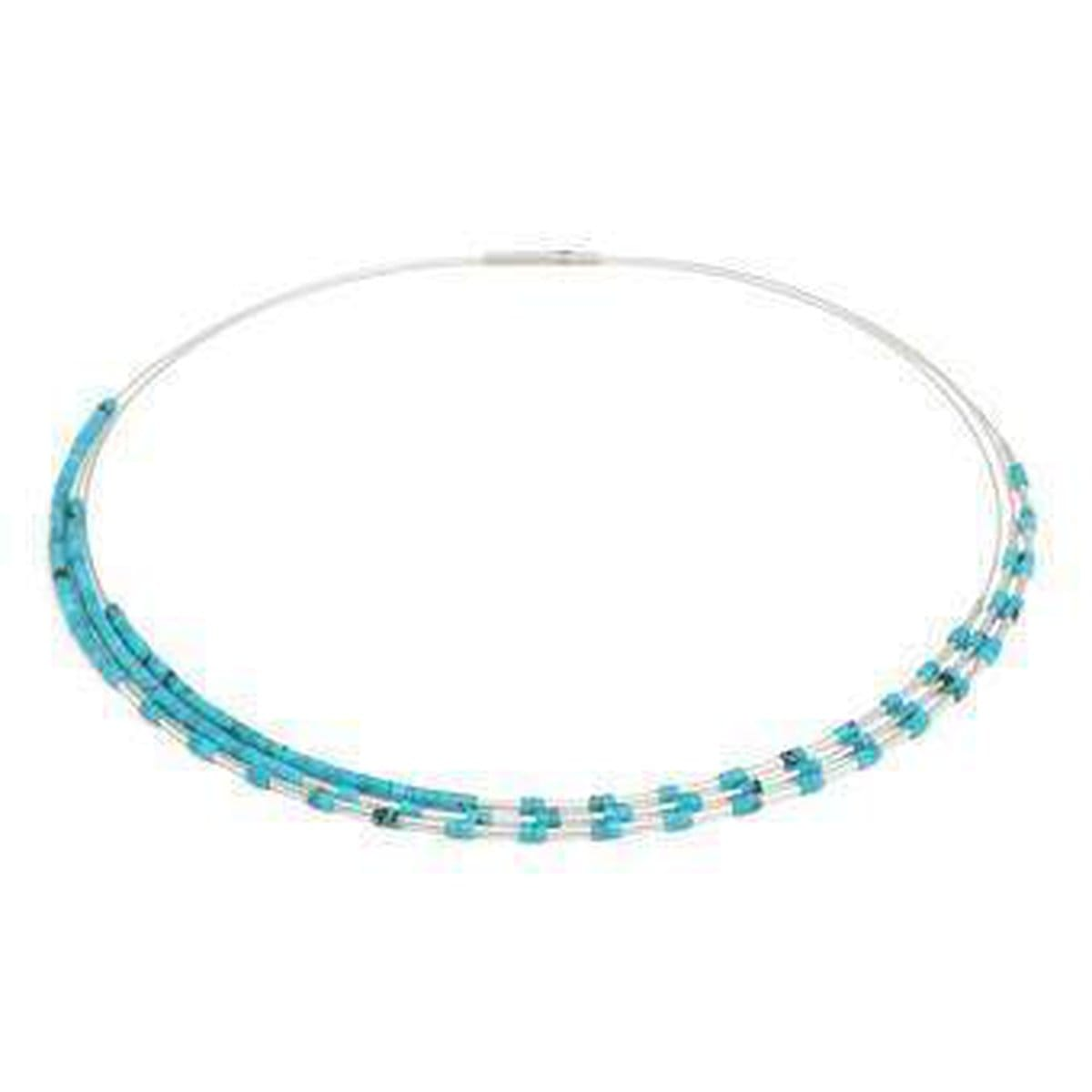 Clea Turquoise Necklace - 85375254-Bernd Wolf-Renee Taylor Gallery