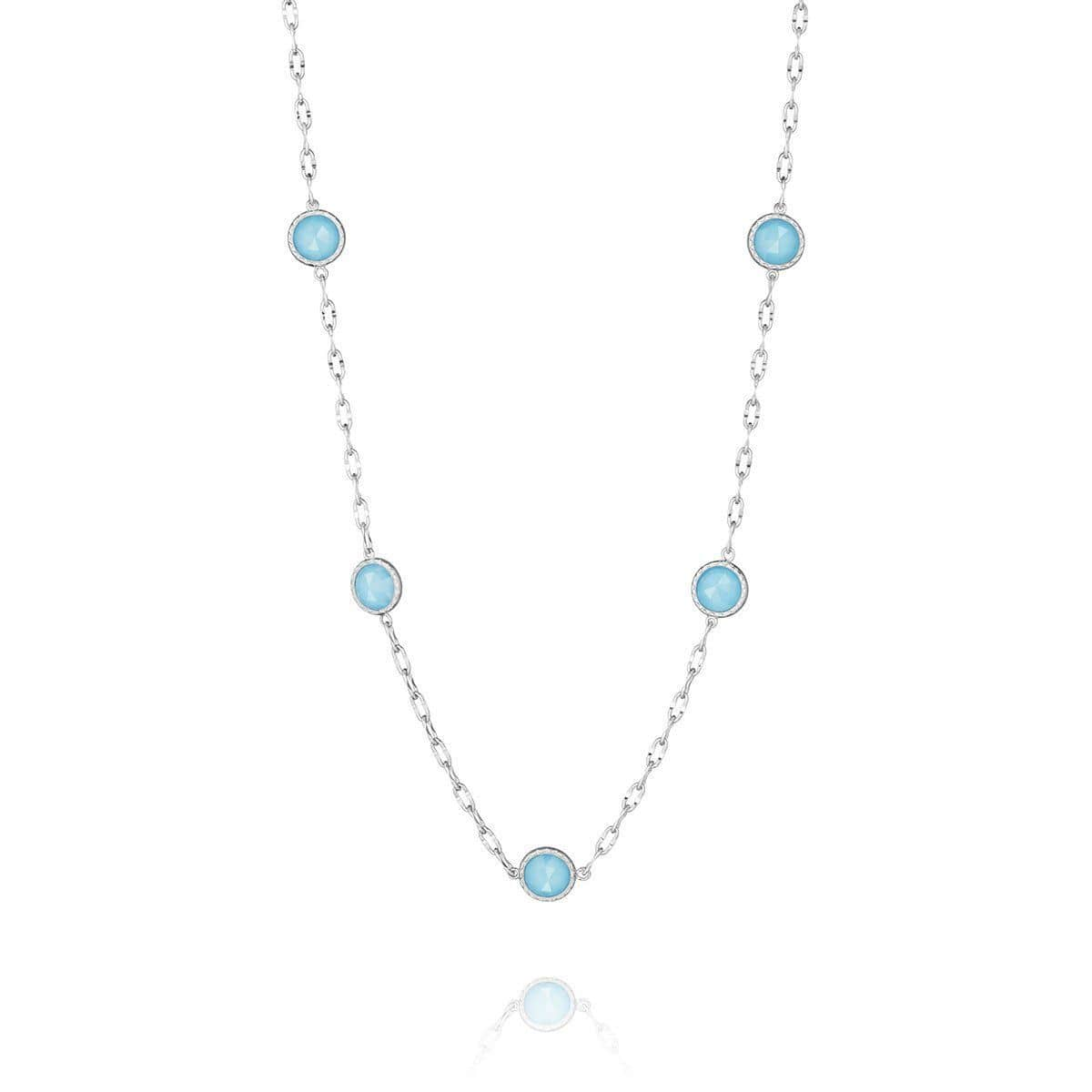 Clear Quartz Neolite Turquoise Necklace - SN14605-Tacori-Renee Taylor Gallery