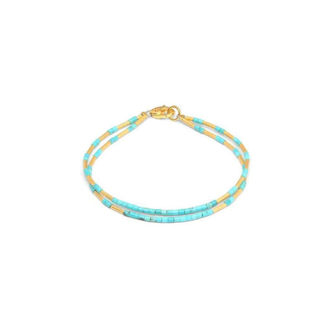 Clemi Turquoise Bracelet - 82172256-Bernd Wolf-Renee Taylor Gallery