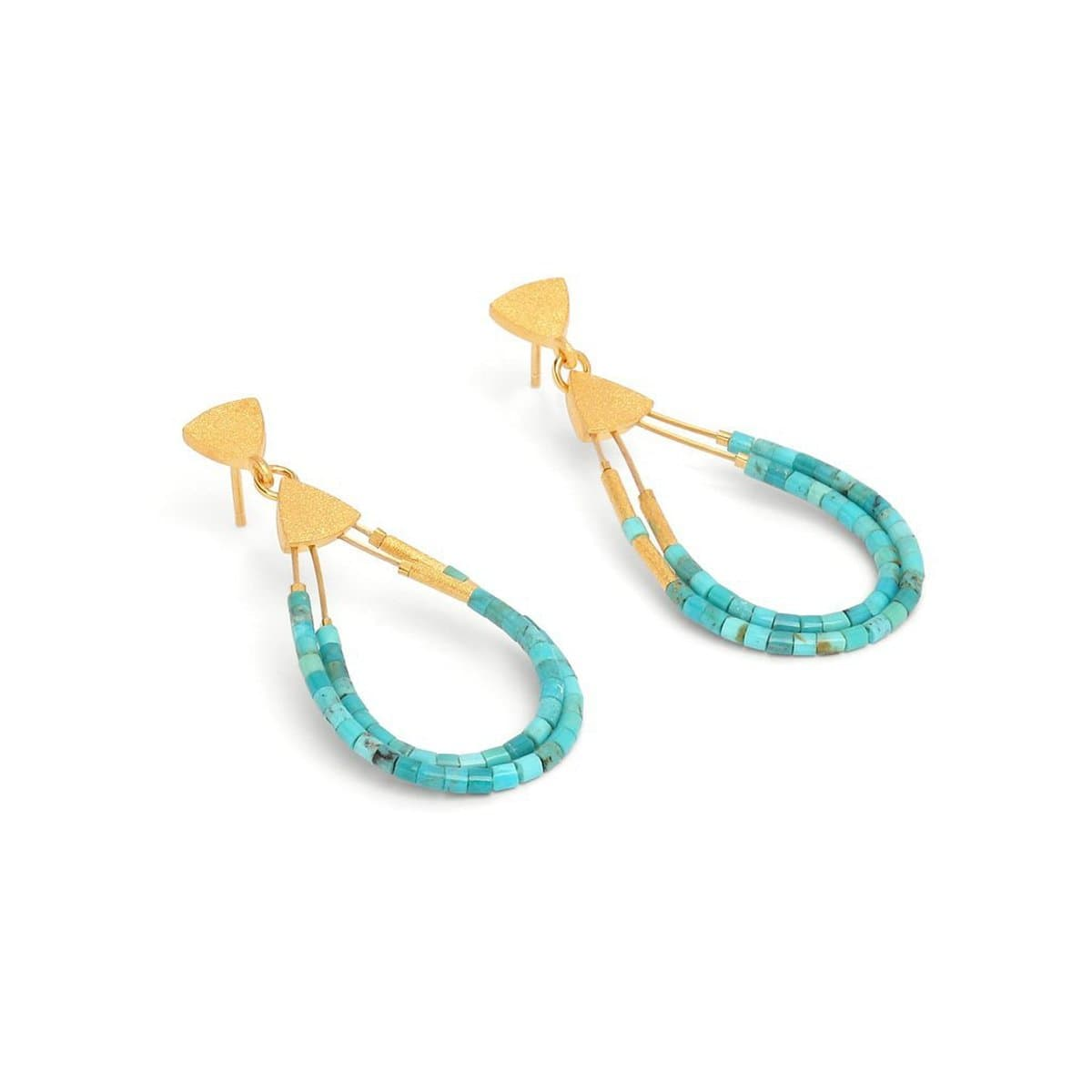 Cleni Turquoise Earrings - 15585256 - Bernd Wolf