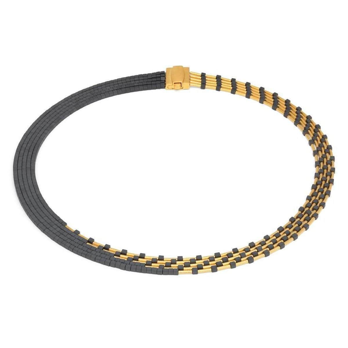 Cleopatra Hematine Necklace - 84016276