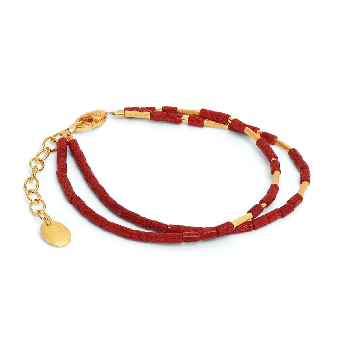 Clia Red Coral Bracelet - 82072296-Bernd Wolf-Renee Taylor Gallery