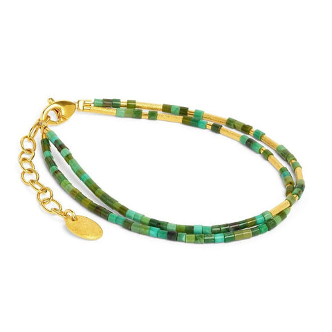 Clini Green Turquoise Bracelet - 82072356-Bernd Wolf-Renee Taylor Gallery